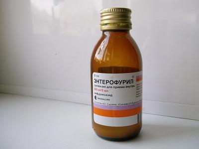 Энтерофурил – инструкция по применению для детей, суспензия.